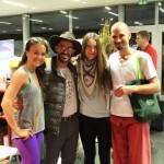 Tiffany, Pedro, Anja i Petros-Učitelji LYC 2012.